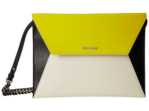 McQ - Willow Envelope (Ivory/Sun) Shoulder Handbags