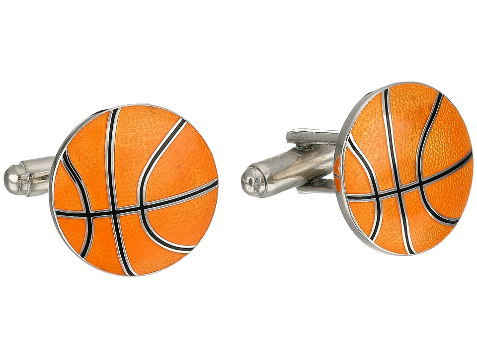 Cufflinks Inc. - Basketball Cufflinks (Orange) Cuff Links