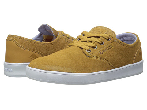 Emerica - The Romero Laced (Brown/White/Brown) Men's Skate Shoes