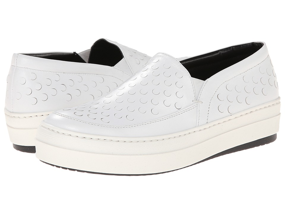McQ Daze Studded Slip On (White) Women