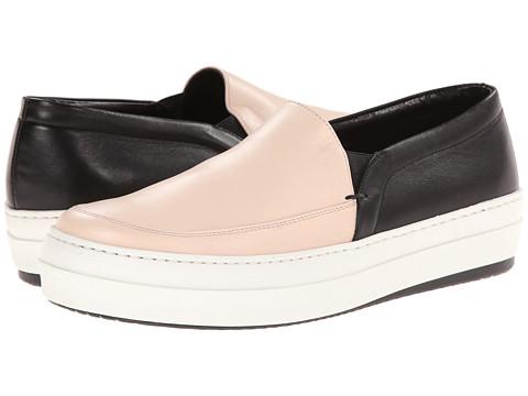 McQ - Daze Studded Slip On (Pale Pink/Black) Women's Slip on Shoes