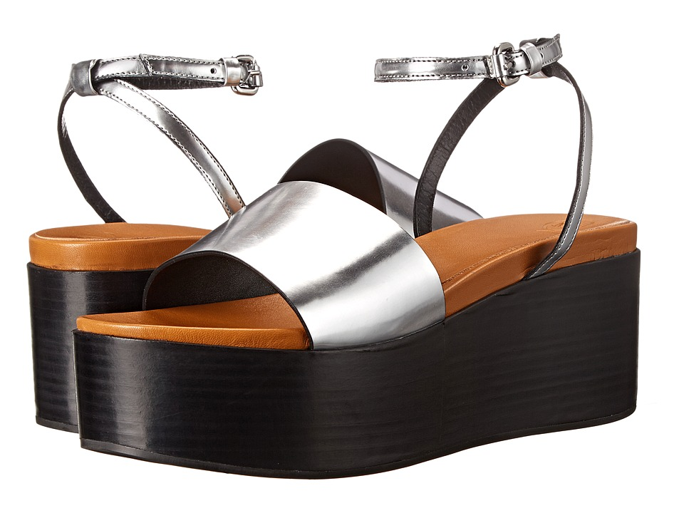 McQ - Lotta Sandal (Caramel/Grey) Women's Sandals