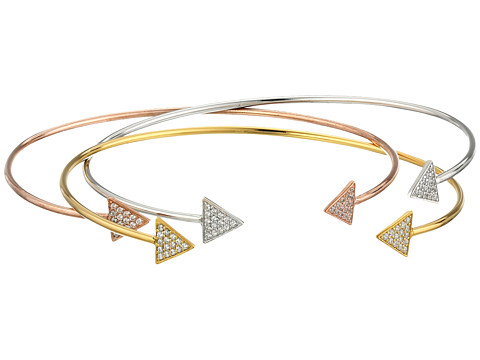 Dee Berkley - Arrow Bangle Set (Gold/Silver/Rose) Bracelet