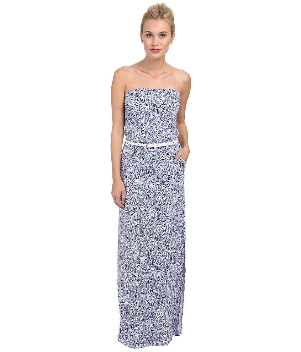 Tart - Kellay Maxi Dress (Cobalt Snake) Women's Dress