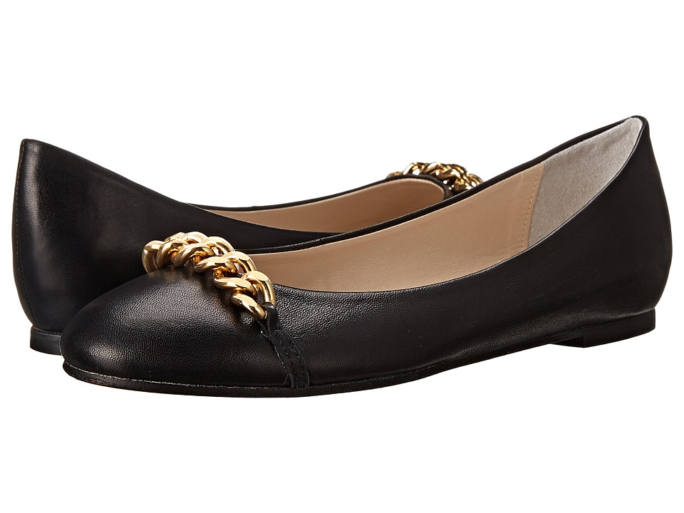 Patricia Green - Lisa Leather (Black) Women's Slippers