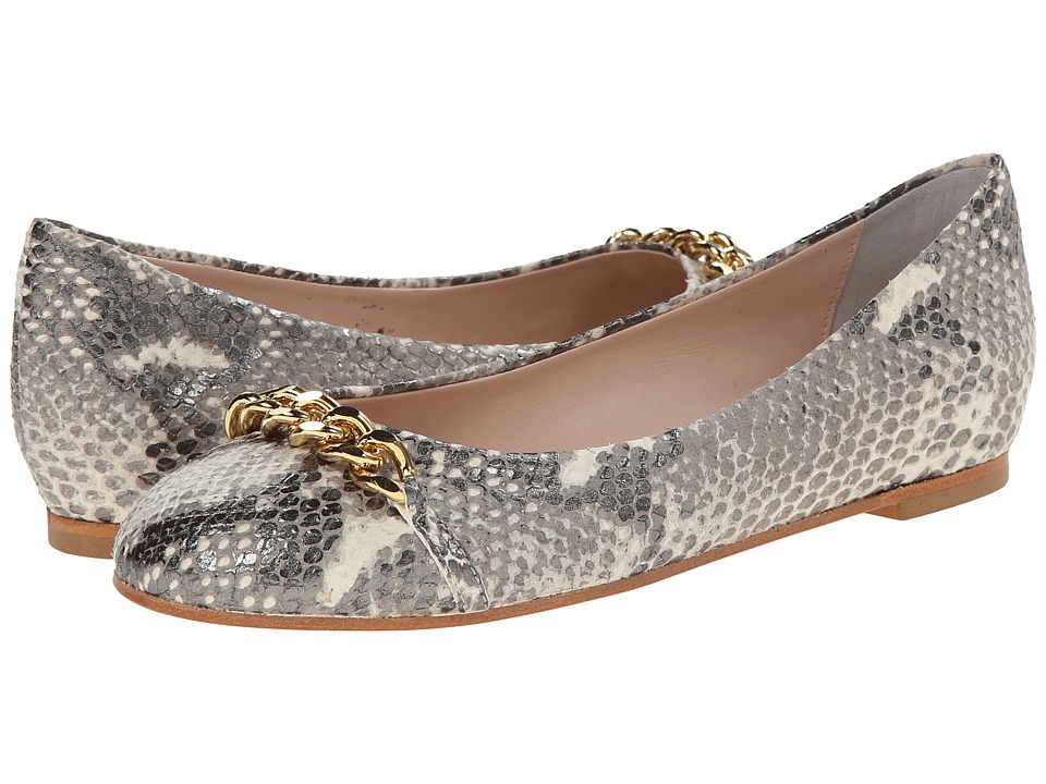 Patricia Green - Lisa Leather (Natural Snake) Women's Slippers