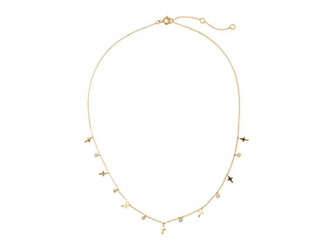 Dee Berkley - Cross Necklace (Gold) Necklace