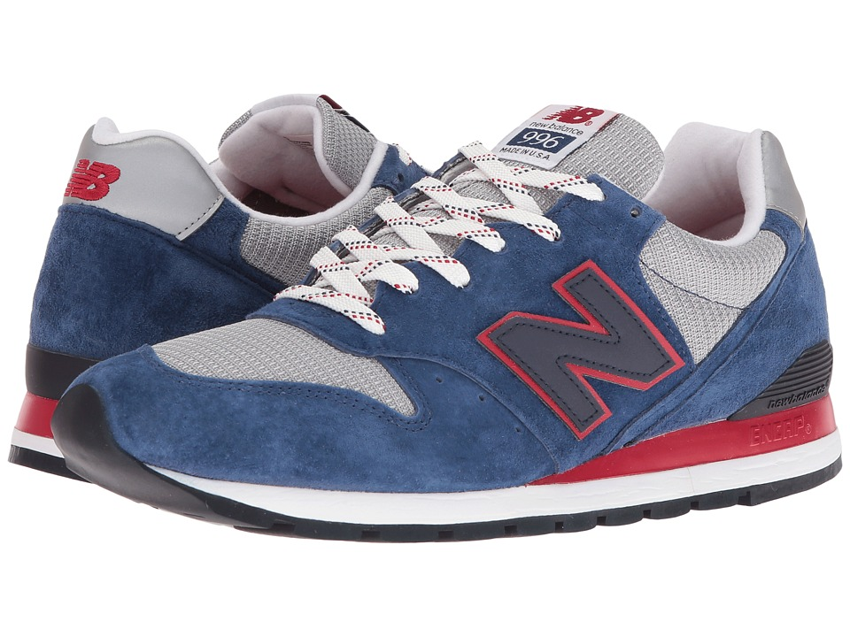 New Balance Classics - M996 (Deep Blue Suede/Mesh) Men's Classic Shoes