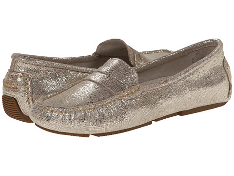 Patricia Green - Elizabeth (Gold Crossgrain) Women's Slippers