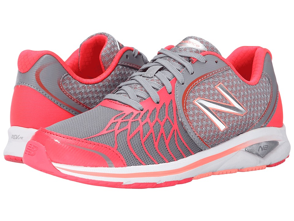 New Balance - WW1765v2 (Grey/Pink) Women's Walking Shoes