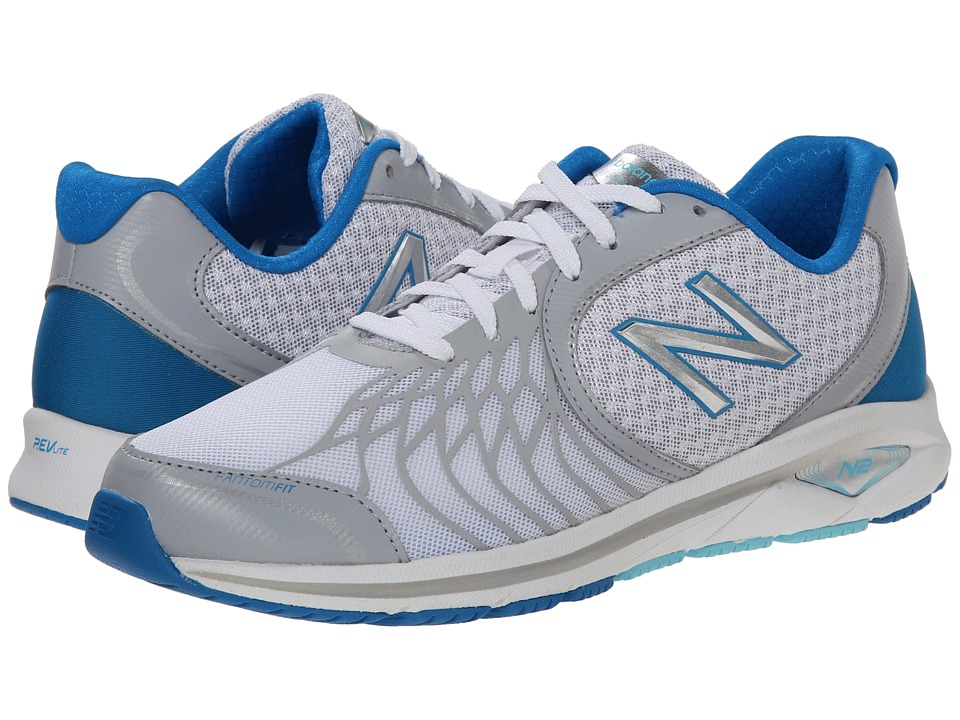 New Balance - WW1765v2 (White/Blue) Women's Walking Shoes