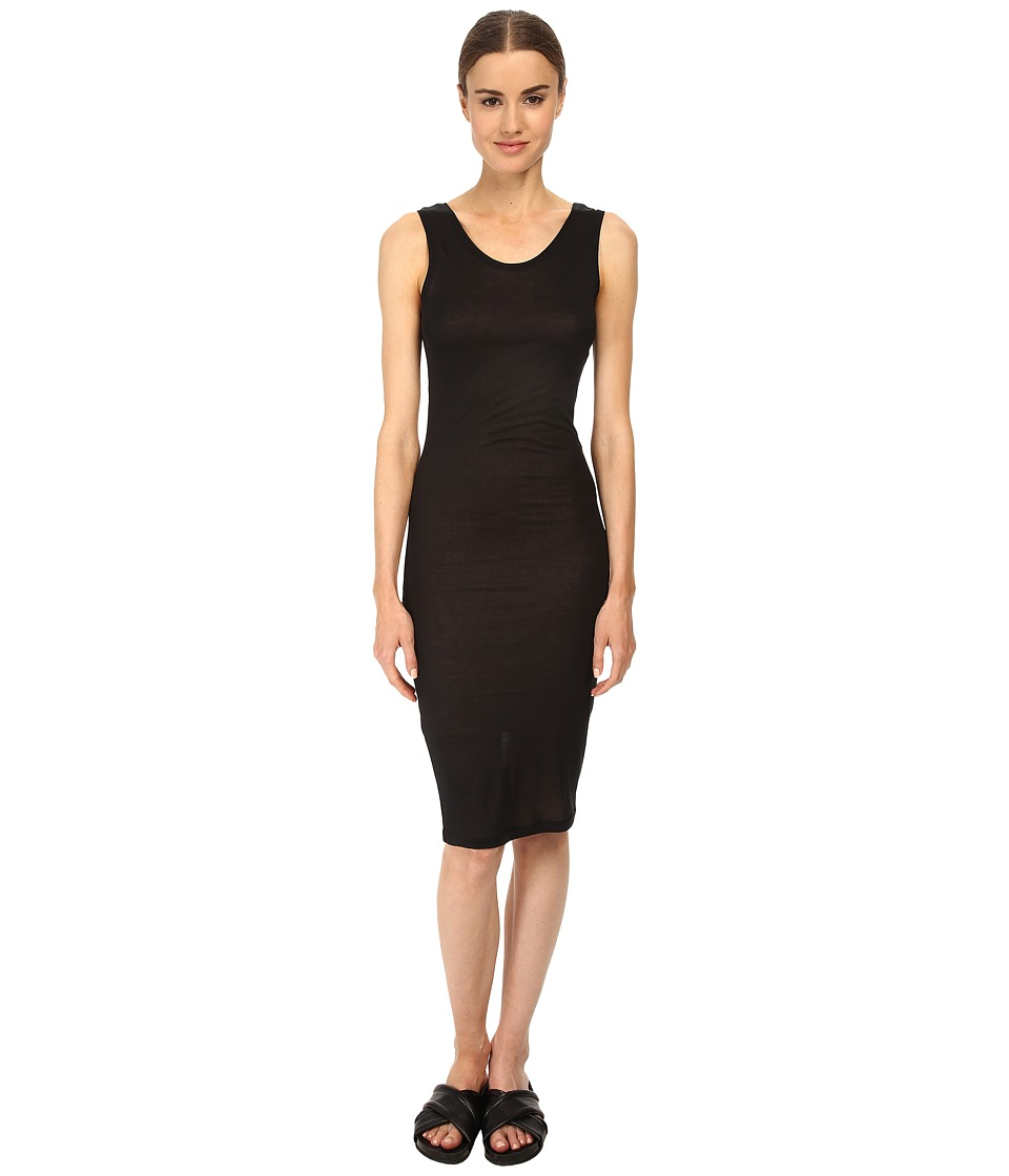 McQ - Low Neck Tank Dress (Darkest Black) Women's Dress