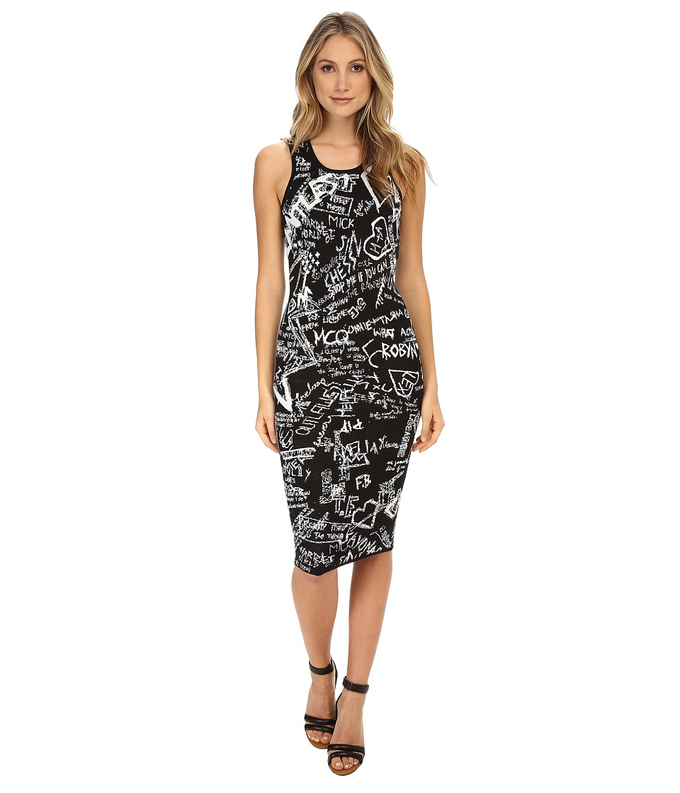 McQ - Jacquard Tank Dress (Darkest Black) Women's Dress