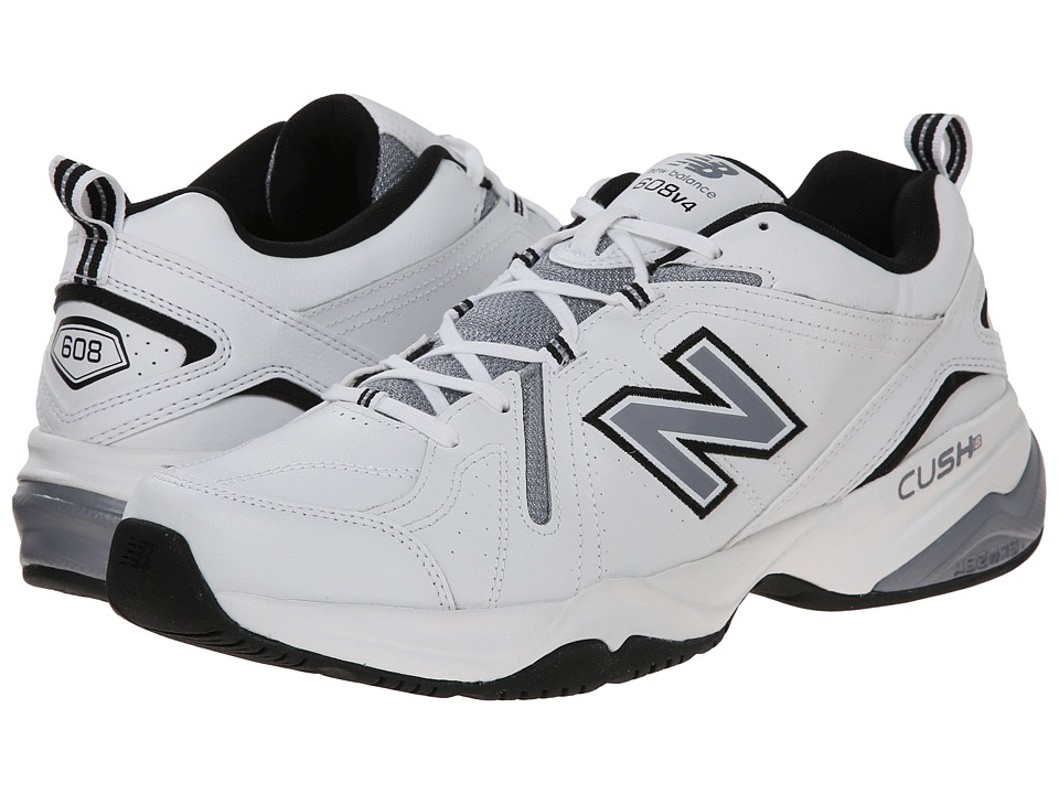 New Balance - MX608v4 (White/Black) Men's Shoes
