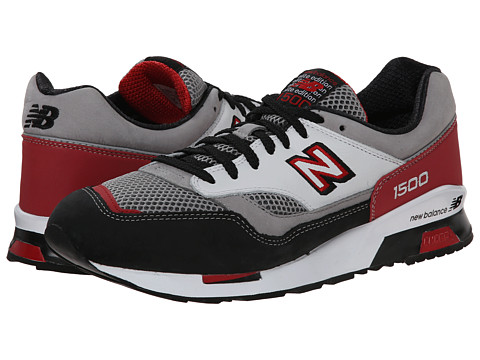 New Balance Classics - CM1500 (Grey/Red) Men's Classic Shoes