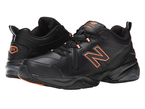 New Balance - MX608v4 (Black/Orange) Men's Shoes