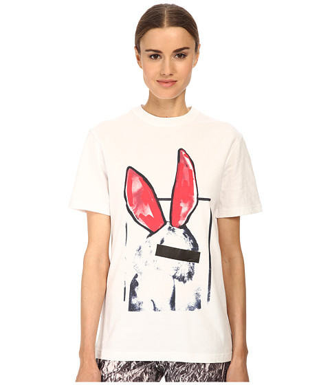 McQ - Boyfriend T-Shirt (Optic White) Women's T Shirt