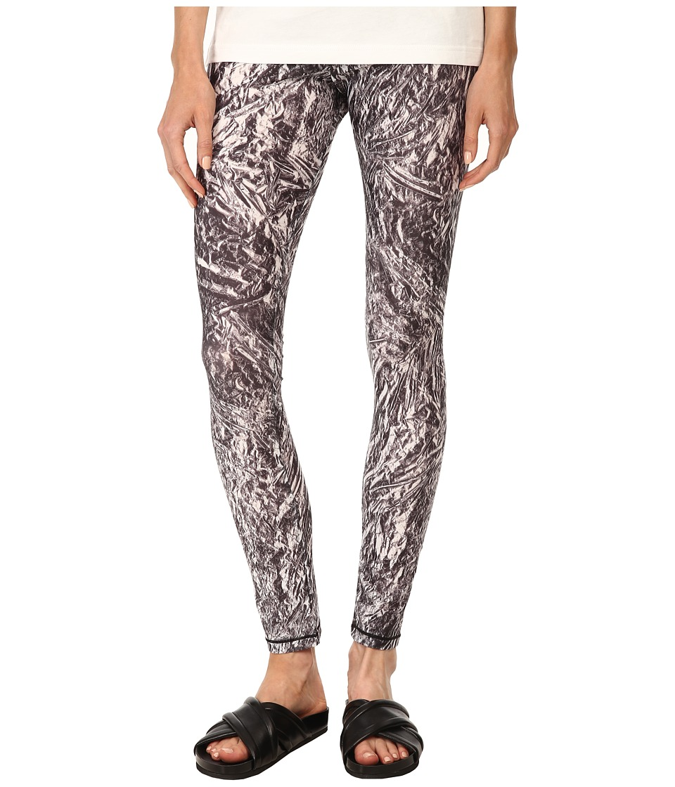 McQ - Printed Leggings (Silver) Women's Casual Pants