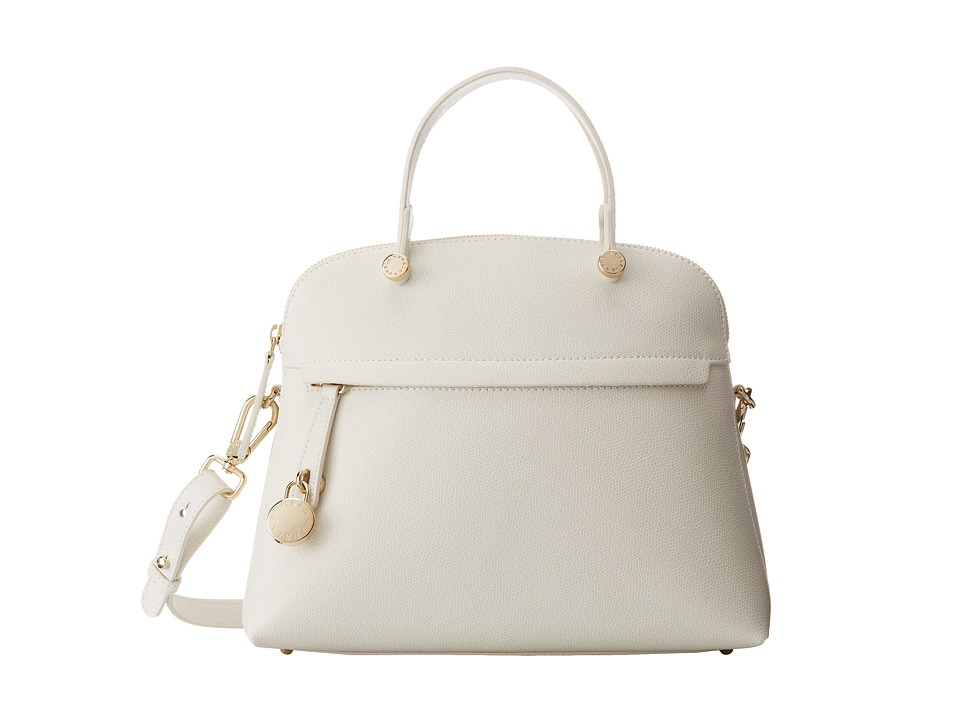 Furla - Piper Medium Dome (Petalo) Satchel Handbags