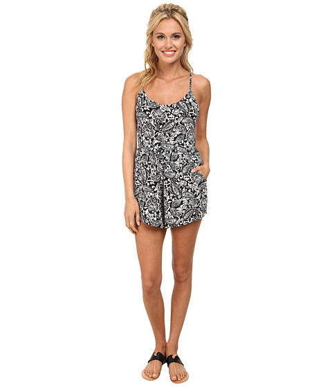 Billabong - Dancing Shores Romper (Black) Women