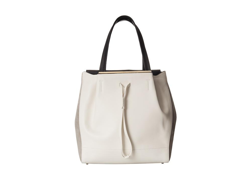Furla - Twist Medium Tote/Drawstring (Petalo/Onyx) Drawstring Handbags