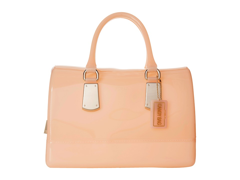 Furla - Candy Medium Satchel (Magnolia) Satchel Handbags