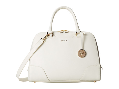 Furla - Dolly Medium Satchel North/South (Petalo) Satchel Handbags