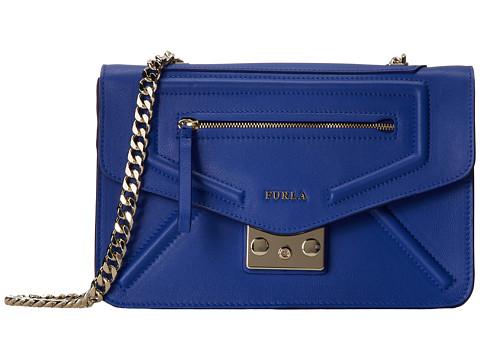 Furla - Alice Small Crossbody (Ocean) Cross Body Handbags