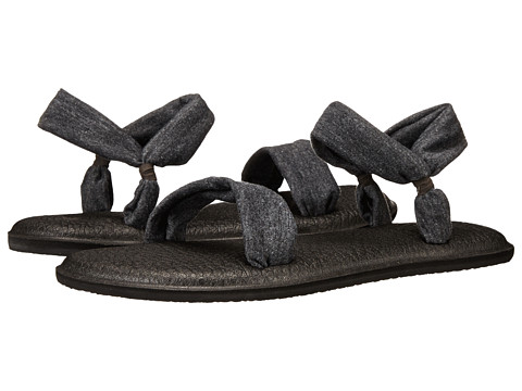 Sanuk - Yoga Duet (Charcoal) Women's Sandals