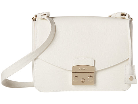 Furla - Metropolis Small Shoulder Bag (Petalo) Shoulder Handbags