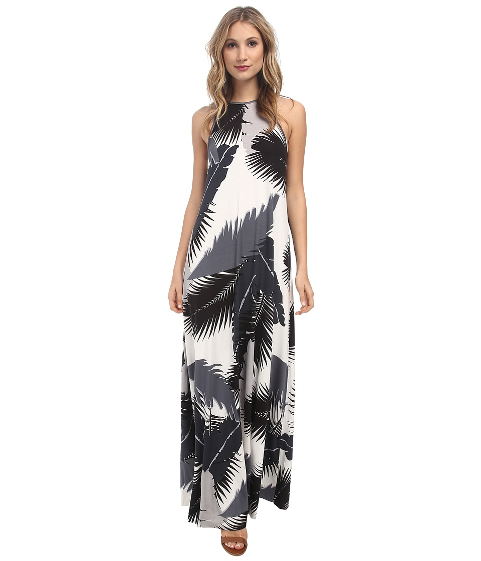 Rachel Pally - Marieke Printed Dress (Black Tropical) Women