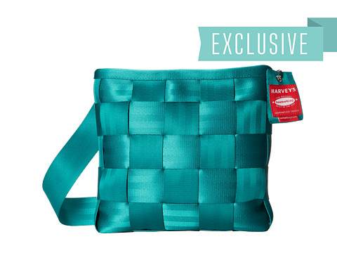 Harveys Seatbelt Bag - Mini Messenger (Emerald) Cross Body Handbags