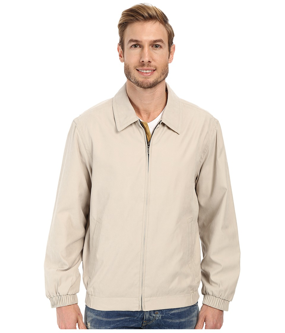 Rainforest - Microseta Golf Jacket (Bone) Men's Coat