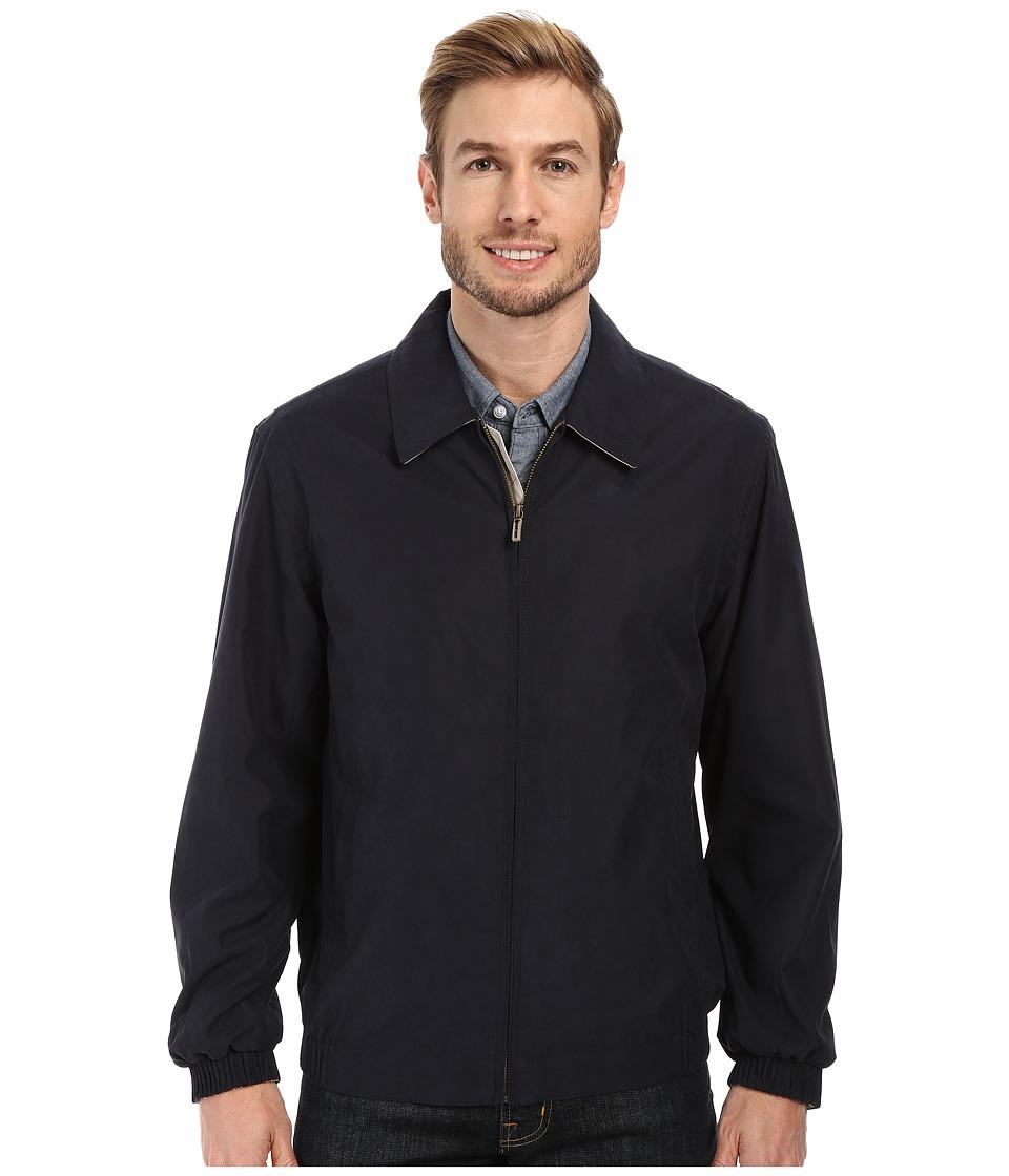 Rainforest - Microseta Golf Jacket (Navy) Men