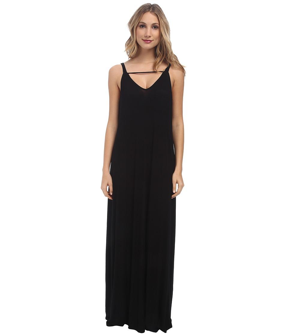 Rachel Pally Rib Odyssey Dress (Black) Women