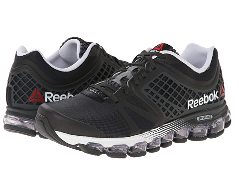 Reebok - ZJet MPH (Foggy Grey/Gravel/White/Excellent Red) Men's Running Shoes
