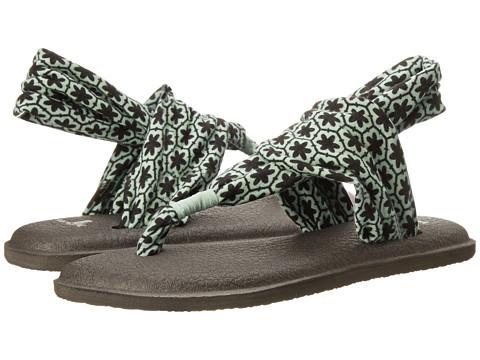 Sanuk - Yoga Sling 2 Prints (Eggshell Tile) Women's Sandals