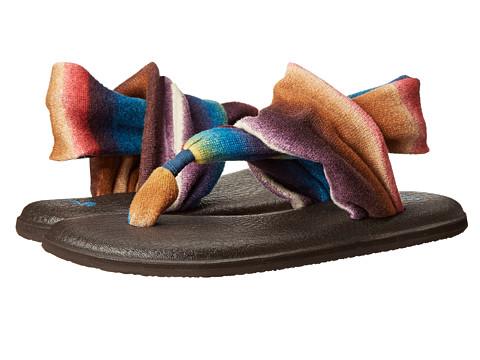 Sanuk - Yoga Sling 2 Prints (Indigo Multi/Blanket) Women's Sandals