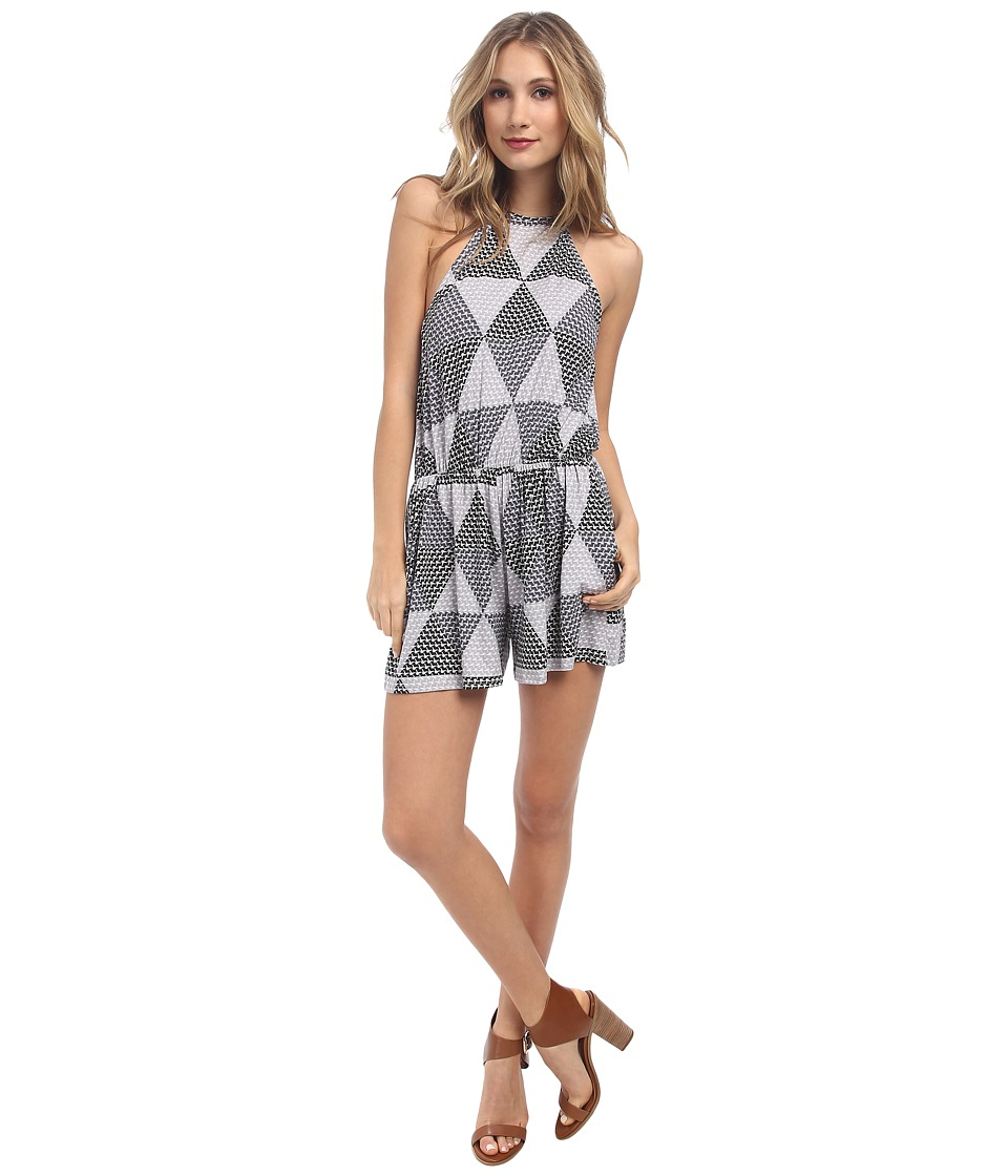 Rachel Pally - Dee Dee Printed Playsuit (Cement Hexagon) Women's Jumpsuit & Rompers One Piece