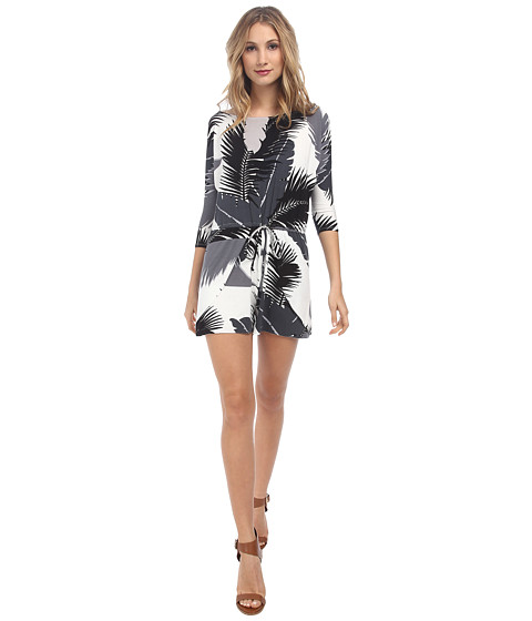 Rachel Pally - Truman Printed Playsuit (Black Tropical) Women
