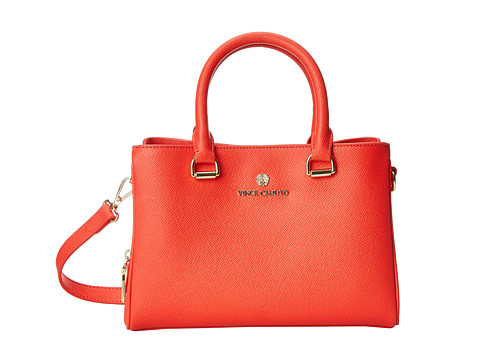 Vince Camuto - Thea Small Satchel (Poppy Red) Satchel Handbags