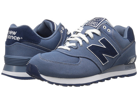 New Balance Classics - ML574 (Chambray/Textile) Men