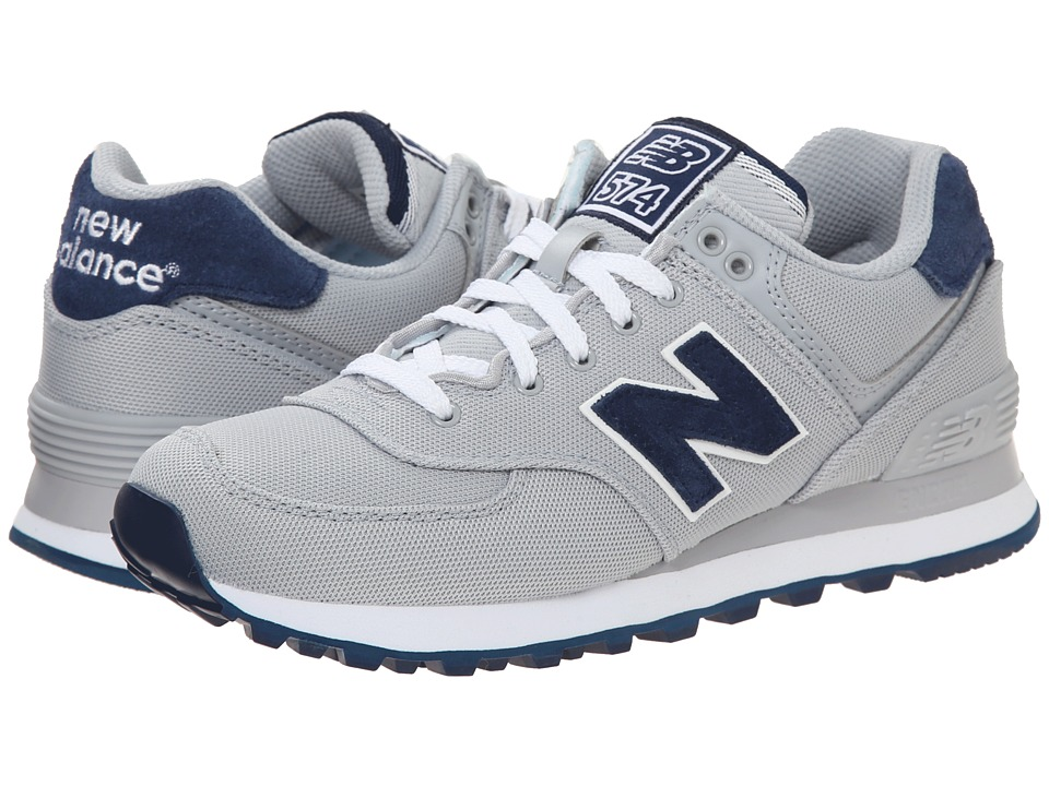 New Balance Classics - WL574 - Pique Polo Collection (Silver Mink/Textile) Women's Classic Shoes
