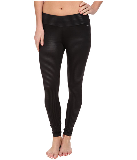Jockey Active - Shiny Ankle Legging (Black) Women