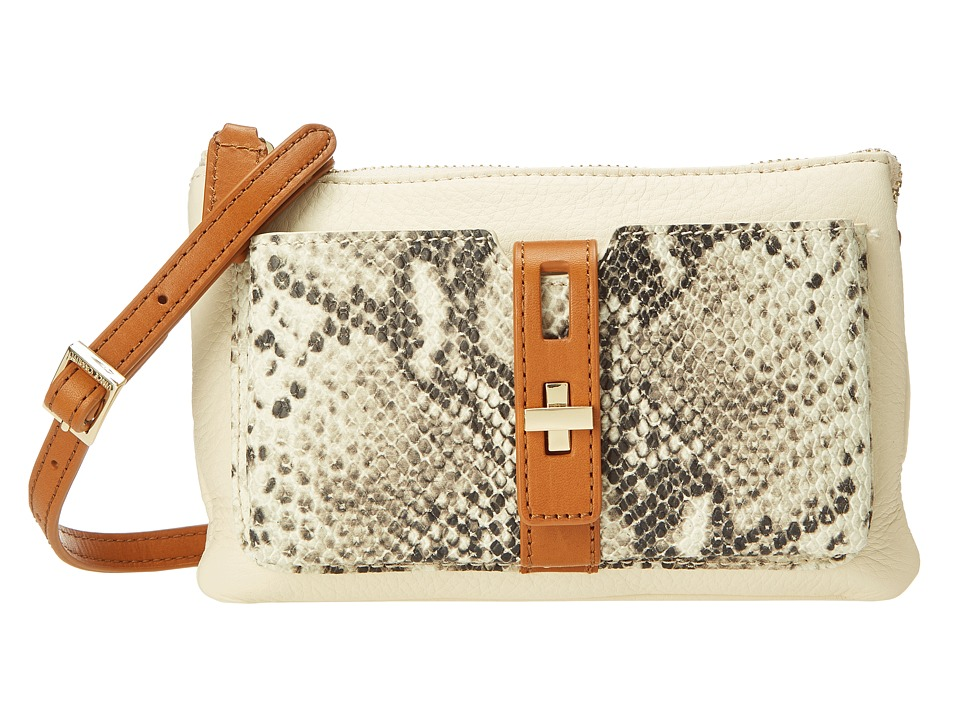 Vince Camuto - Darla Small Crossbody (Ivory/Ivory) Cross Body Handbags