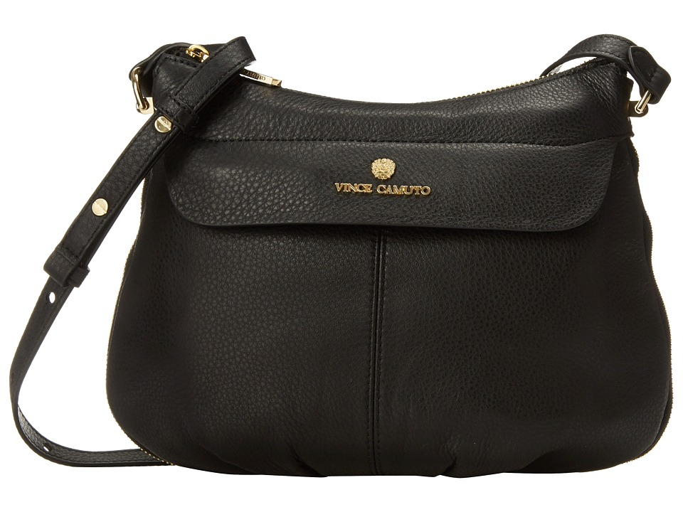 Vince Camuto - Dean Crossbody (Black) Cross Body Handbags