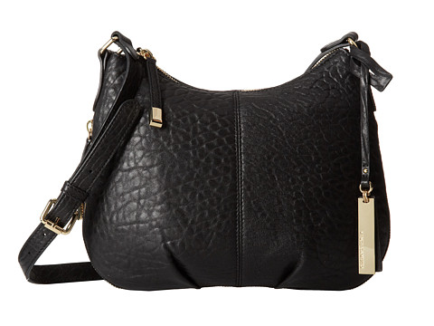 Vince Camuto - Riley Medium Crossbody (Black) Cross Body Handbags