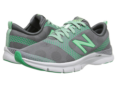 New Balance - WX711 (Silver/Green) Women's Shoes
