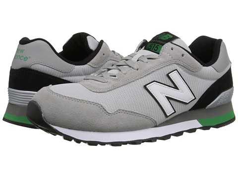New Balance - ML515 (Grey/Green) Men's Running Shoes