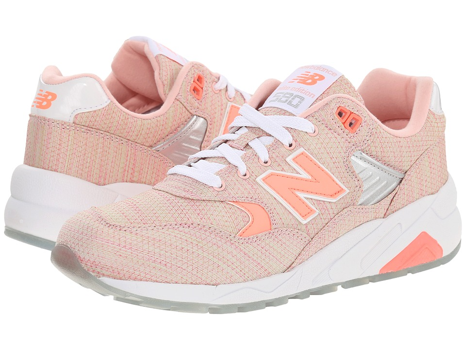 New Balance - WRT580 (Coral/Textile) Women's Classic Shoes